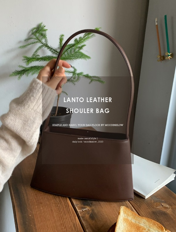 Lanto leather shouler bag
